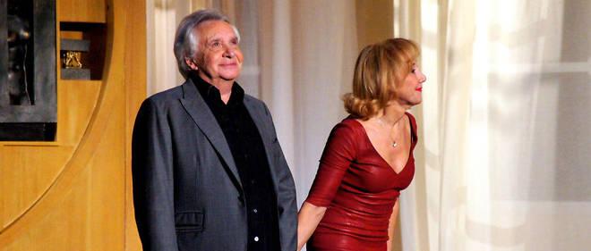 Michel Sardou avait joué en 2015 au côté de Marie-Anne Chazel la comédie «Représailles», au théâtre de La Michodière.