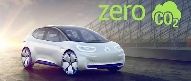 Le concept ID. préfigure la berline compacte électrique que Volkswagen lancera en 2020.