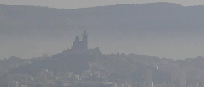 La ville de Marseille n'est pas épargnée par la pollution de l'air.