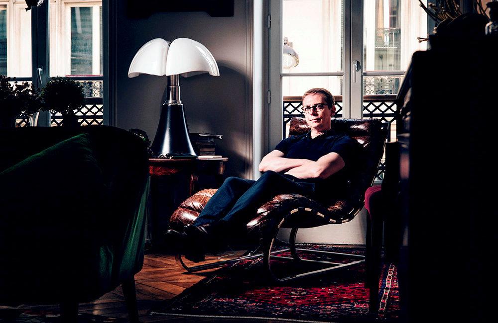 Rationaliste. Lesociologue Gérald Bronner àson domicile parisien, le 11mars.