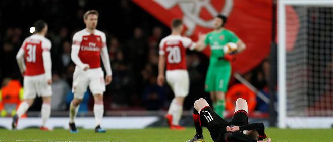 Défait 3-0 par Arsenal à l'Emirates Stadium, le Stade rennais est éliminé de la Ligue Europa.