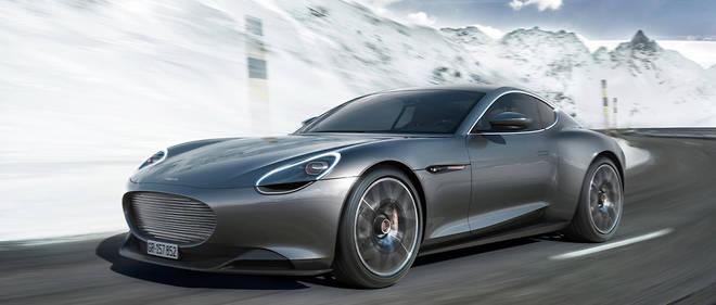 Cette Piëch Mark Zero roule manifestement dans les traces de Jaguar et d'Aston Martin