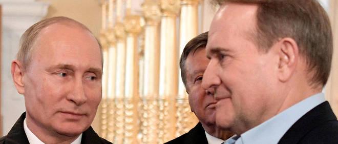 Viktor Medvedchuk, politicien proche de Poutine, est accusé d'attiser le séparatisme à l'est du pays.