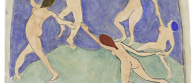 Une des pièces phares de l'exposition : La Danse d'Henri Matisse.