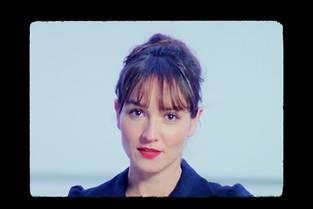 Anaïs Demoustier dans le clip de Séverin.