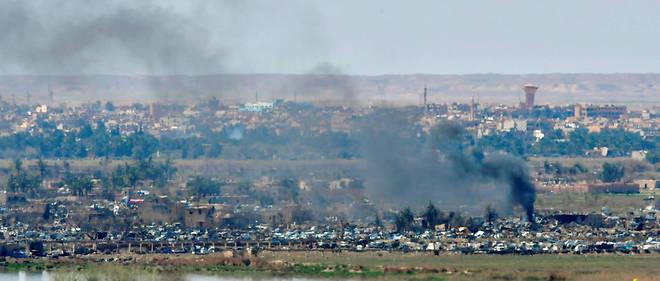 En Syrie, les Forces démocratiques syriennes (FDS) ont déclaré la défaite territoriale à 100 % de l'EI.