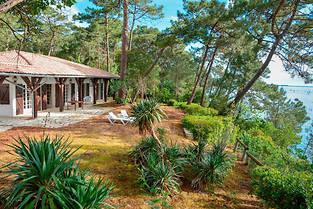 Location d'une villa de luxe au Cap Ferret avec Abritel.