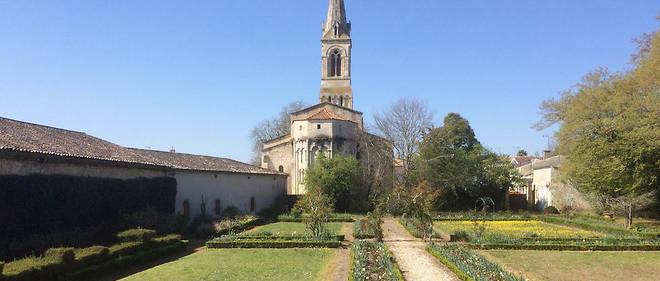 Jardin du château Cissac, Haut-Médoc.