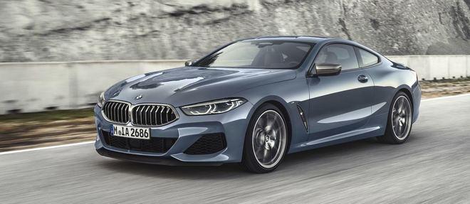 BMW revient aux grands coupés 2+2 avec la Série 8.