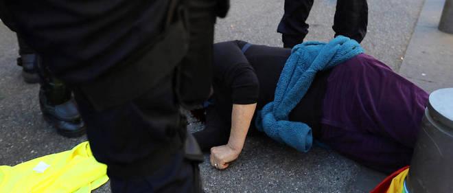 Geneviève Legay avait été poussée lors de la manifestation des Gilets jaunes à Nice le 23 mars dernier.