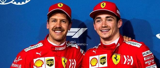 Charles Leclerc a surclassé dès son deuxième GP avec Ferrari son coéquipier Vettel devenu moustachu, un exploit à 21 ans et 5 mois.