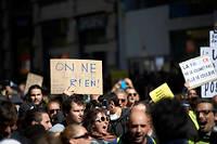 Manifestation de Gilets jaunes à Toulouse le 30 mars 2019.