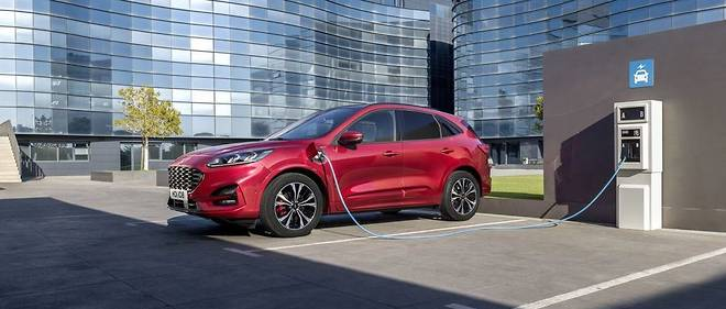 Le nouveau Ford Kuga sera proposé en version hybride rechargeable, notamment pour permettre à Ford de réduidre ses émissions de CO2.