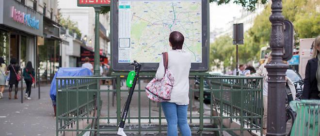 La présence des trottinettes électriques est en expansion à Paris.