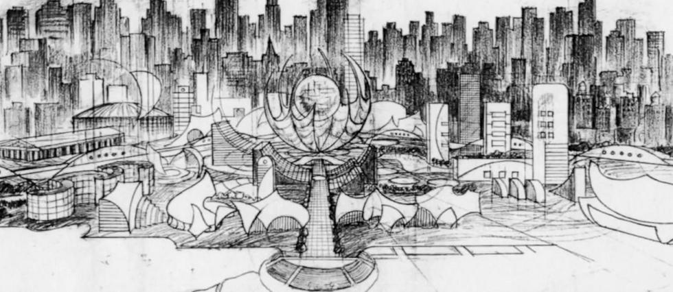 <p>Concept-art de Megalopolis.</p>