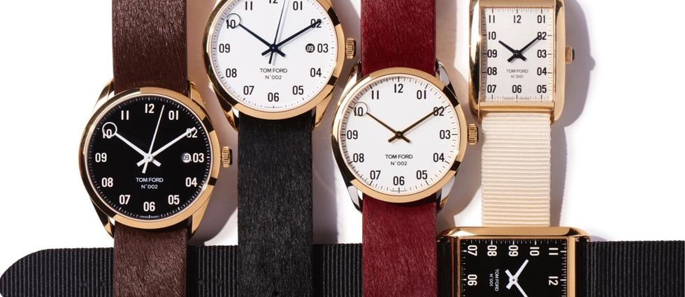 <p>Une deuxième collection de montres signées Tom Ford.</p>