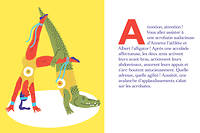 Alphabet cocasse et illustré
