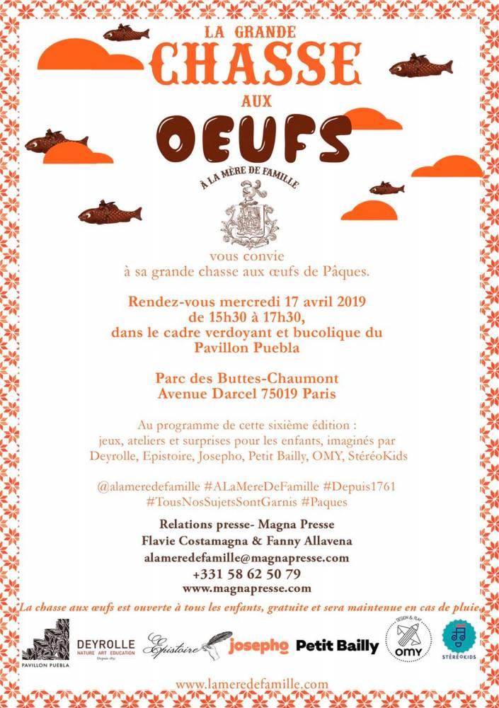oeufs Buttes-chaumont ©  A la Mère de Famille