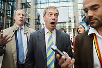 Nigel Farage a monté un nouveau parti pour l'occasion.