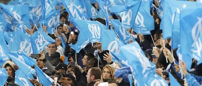 Au stade Vélodrome, en février dernier. L'enceinte de Marseille et celle de Lyon sont les deux qui accueillent le plus de spectateurs cette année, devant le Parc des princes.