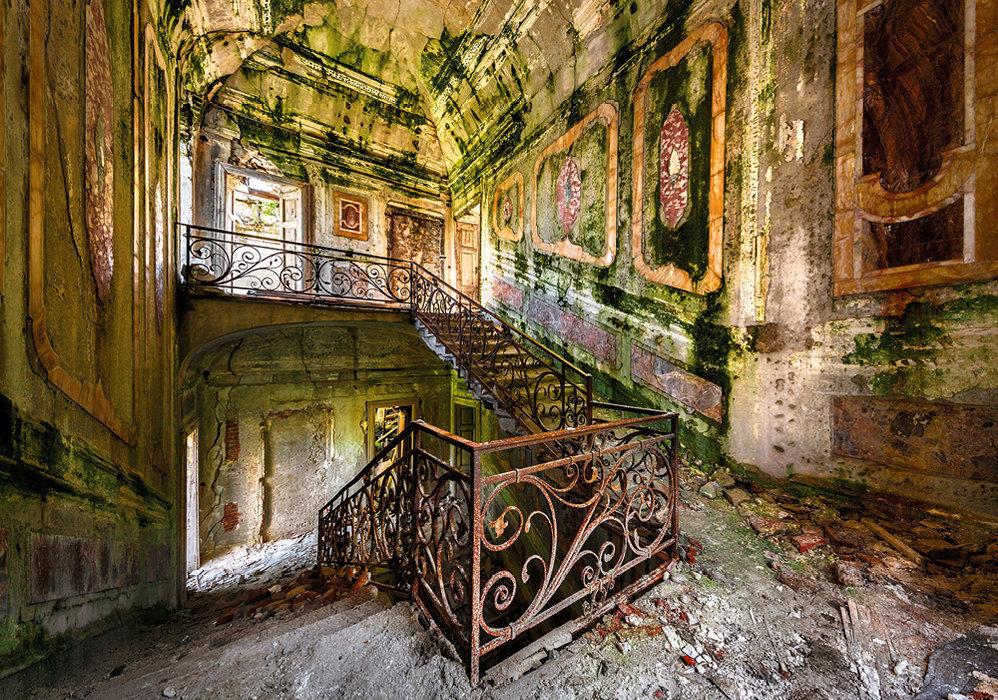 Villa Poss, Piémont. Sur les hauteurs du lac Majeur, ce palais du XVIIIesiècle attend les fonds nécessaires pour être transformé en musée.