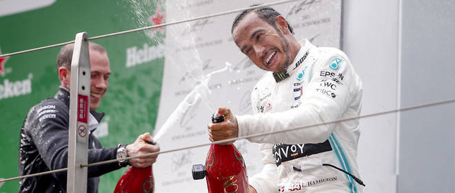 Hamilton gagne sans discussion le GP de Chine a Shanghai