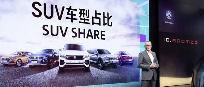 Volkswagen au Salon de Shanghai parie sur le SUV électrique avec le I.D. Roomzz.
