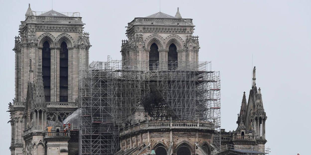 Le Bras Freres L Entreprise Qui Restaurait La Fleche De Notre Dame Le Point