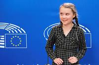 Greta Thunberg, à Strasbourg ce mardi 16 avril 2019.