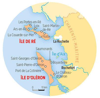 Île d'Oléron-Île de Ré, le match