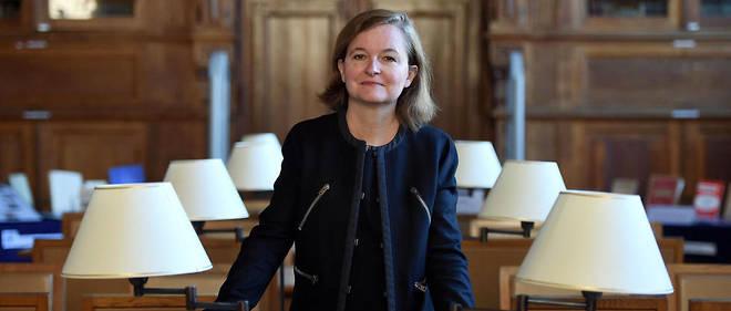 Nathalie Loiseau en septembre 2015dans les locaux de l'ENA.