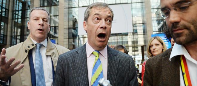 Nigel Farage, l'ancien président du parti populiste United Kingdom Independence Party (Ukip), a formé en janvier un nouveau parti baptisé «Brexit».