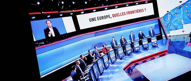 Les chefs de parti s'affrontent dans un nouveau débat pour les élections européennes mardi.