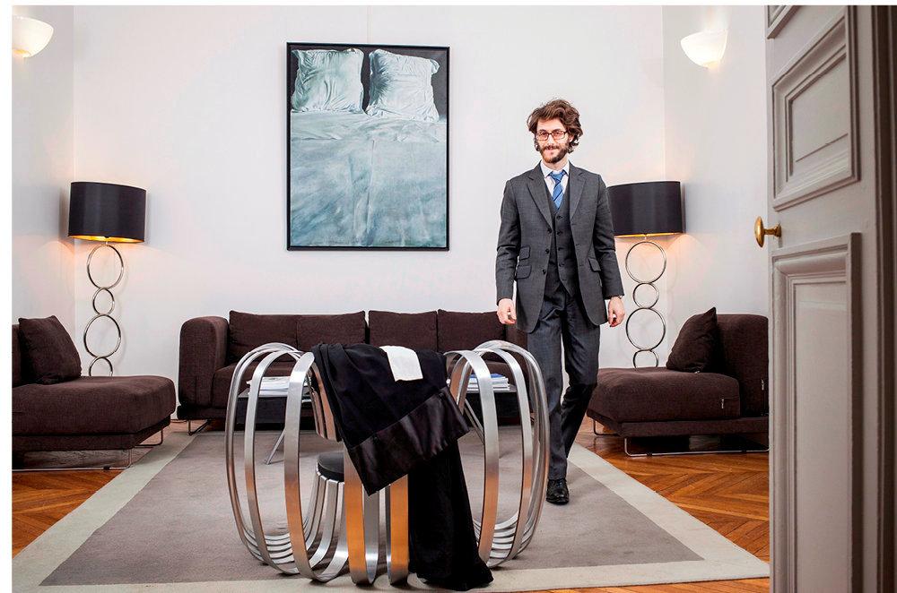 Niche. Maître Guillaume Carbonnier est un avocat lillois spécialisé dans le droit immobilier.