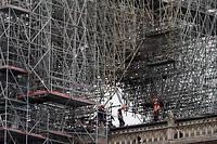 C'est l'entreprise lorraine Le Bras Frères qui était chargée de restaurer la flèche de Notre-Dame.