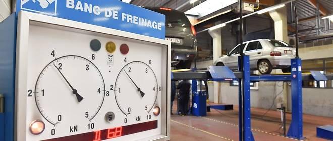 Le banc de freinage compte, mais c'est surtout la détection de fumées qui a changé le contrôle technique.
