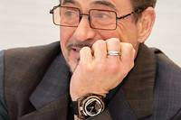 Robert Downey Jr. lors de la conférence de presse du film «Avengers:Endgame» à Los Angeles.  ©Vera Anderson