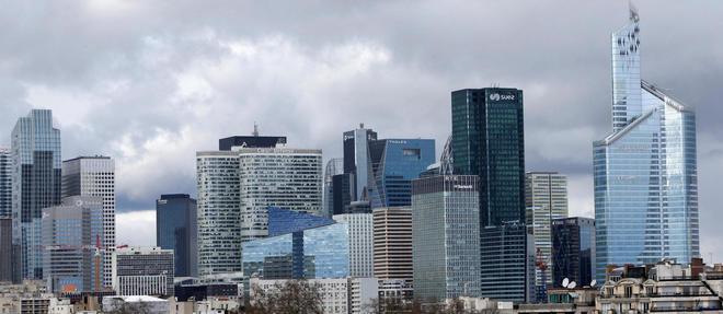 Le quartier de la Défense abrite le siège de plusieurs entreprises cotées au CAC 40.