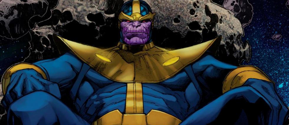 <p>Thanos est l'adversaire suprême des Avengers dans les films Disney-Marvel.</p>