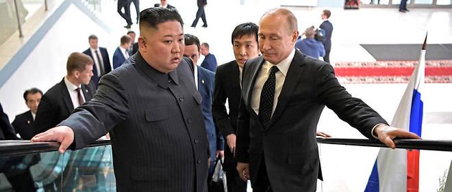 Kim Jong-un et Vladimir Poutine se sont rencontrés à Vladivostok.