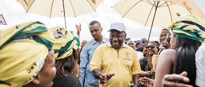 Les sondages indiquent qu'il est peu probable que les Sud-Africains abandonnent totalement le Congrès national africain.