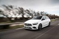 On pourrait présenter la Mercedes Classe B comme une Classe A dont le toit aurait été surélevé de 12 cm.