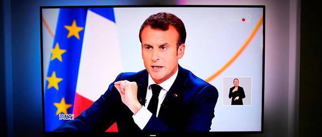 C'est France 2 qui a rassemblé le plus de téléspectateurs durant la conférence de presse d'Emmanuel Macron.