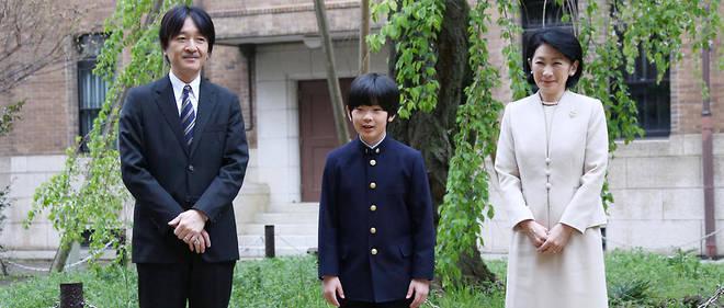 Le prince Hisahito est le fils du prince Akishino, deuxième fils du couple impérial.