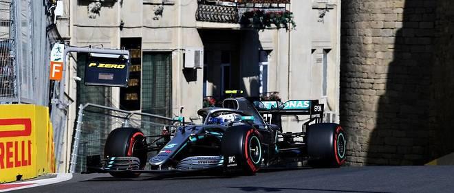 Bottas remporte le GP d'Azerbaïdjan pour un duel annoncé avec Hamilton, son équipier
