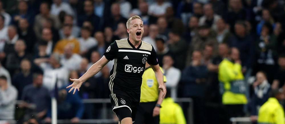 L'Ajax Amsterdam s'impose (0-1) face à Tottenham en demi-finale aller de la Ligue des champions.