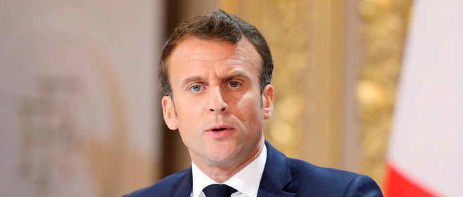 Emmanuel Macron sera intrensigeant en cas de violences de la part des black blocs.