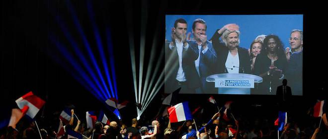 Européennes: un nouveau sondage fait passer le RN devant LREM