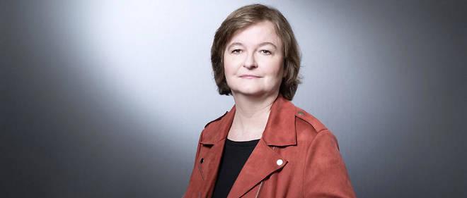 Nathalie Loiseau est la tête de liste du parti de la majorité présidentielle.