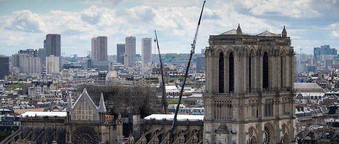 «Je pense que la reconstruction de Notre-Dame est une occasion unique de marquer notre passage dans le temps et de contribuer à l'édifice.»